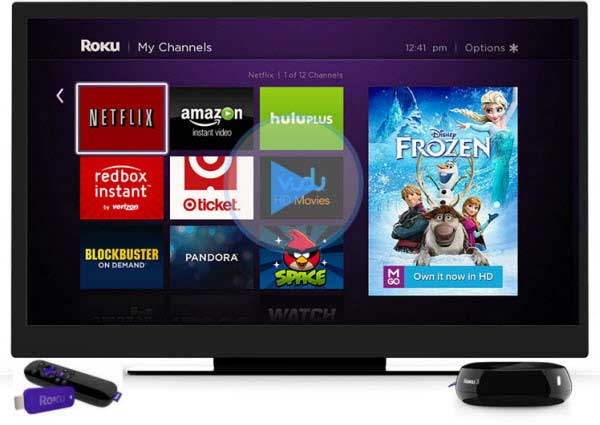 Streamen Videos mit Roku